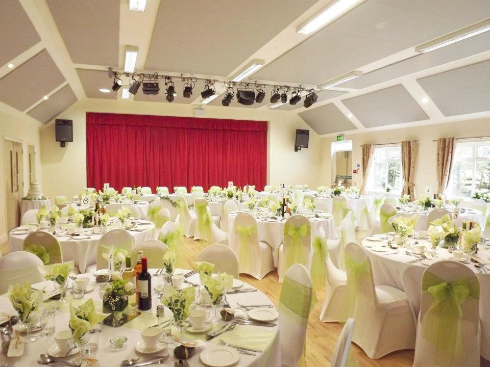 A recent wedding reception held at the Millennium Hall