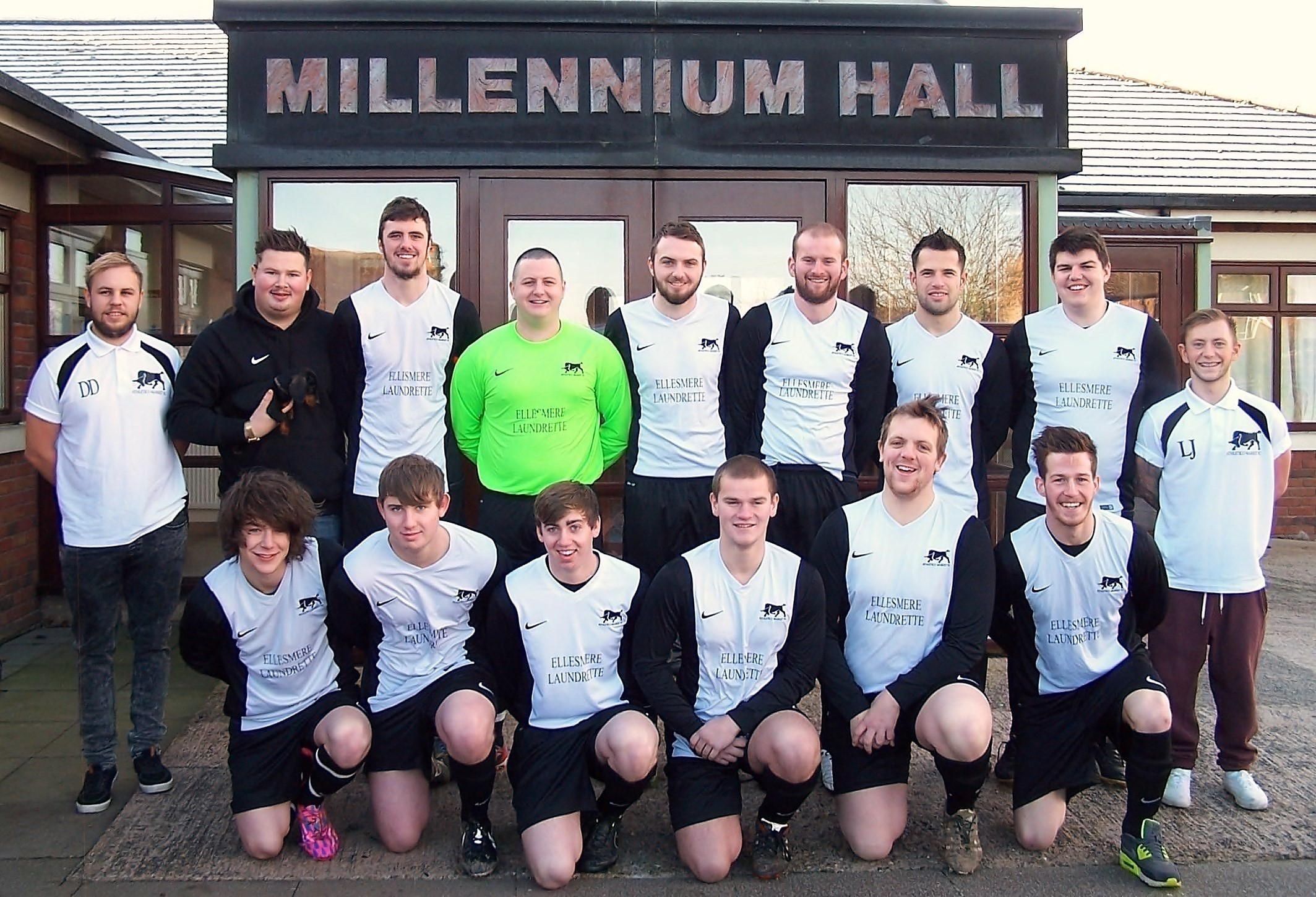 Our own resident football team. We have full changing / shower rooms including the Referee's.
